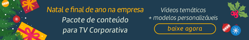 download do pacote de conteúdos de endomarketing para tv corporativa